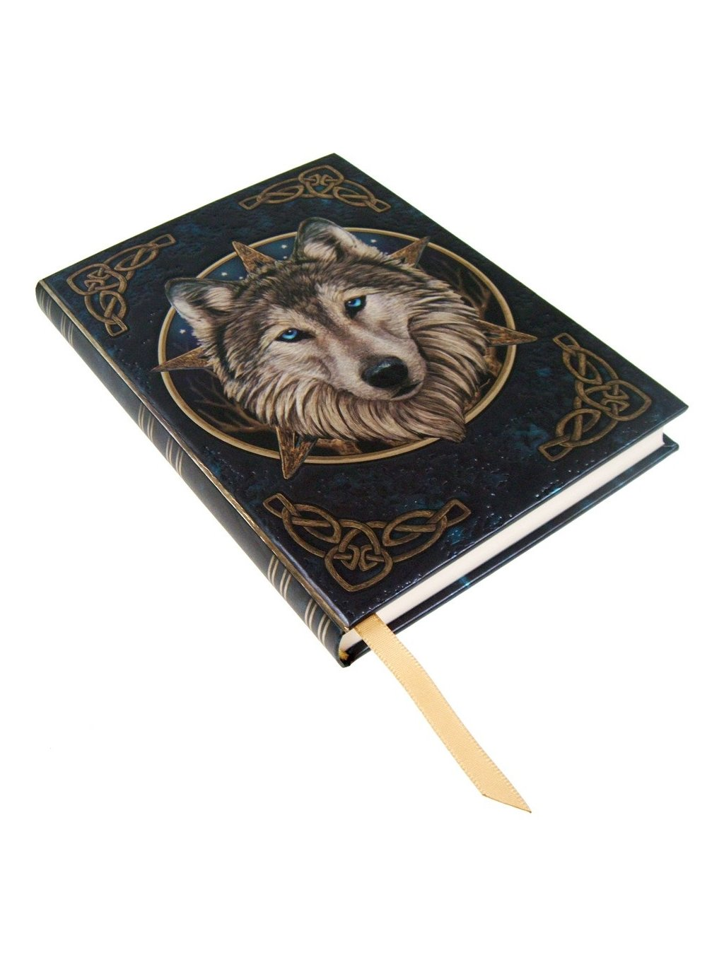 embossed journal the wild one 17cm