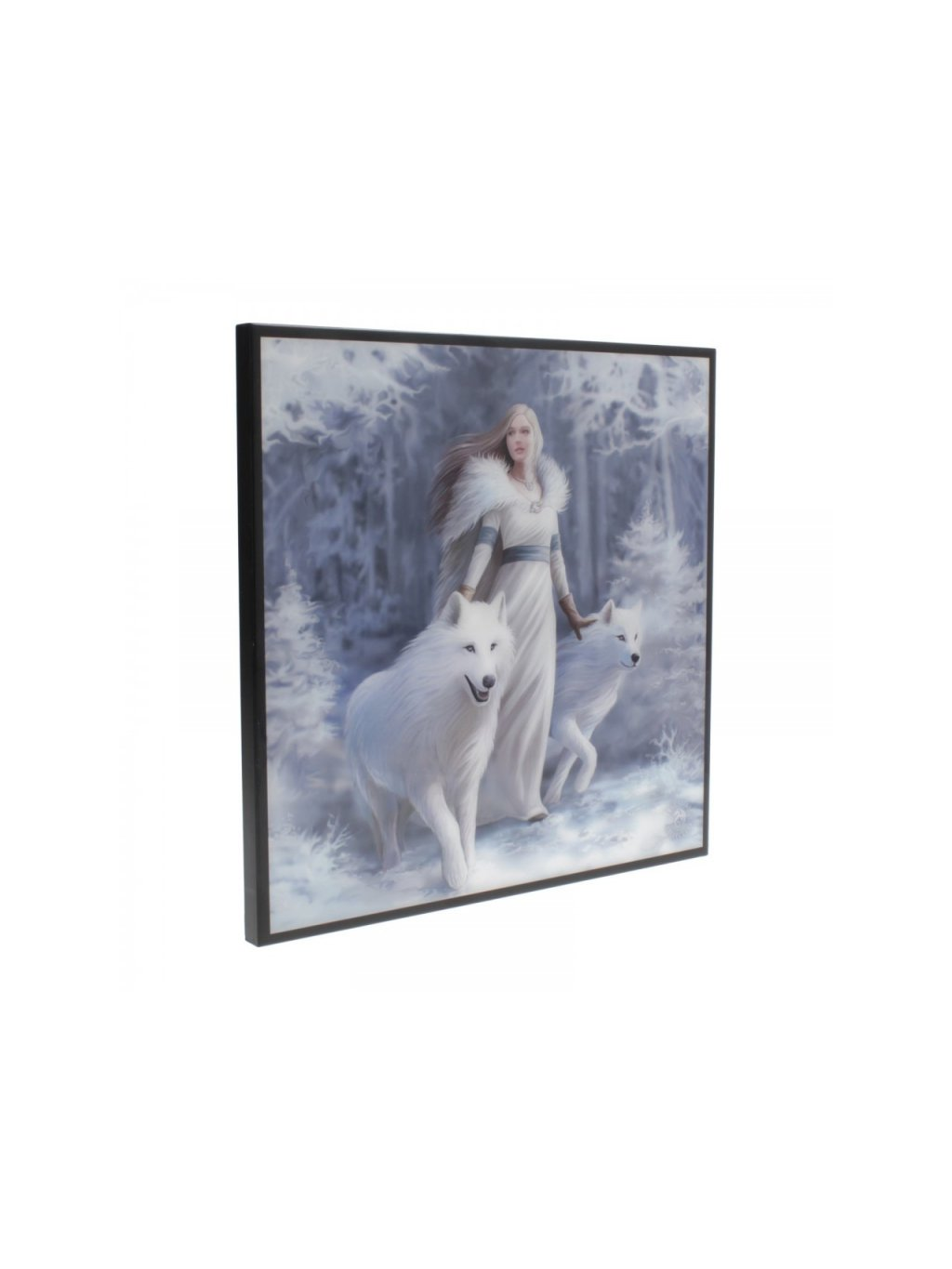 winter guardians small crystal clear picture 25cm