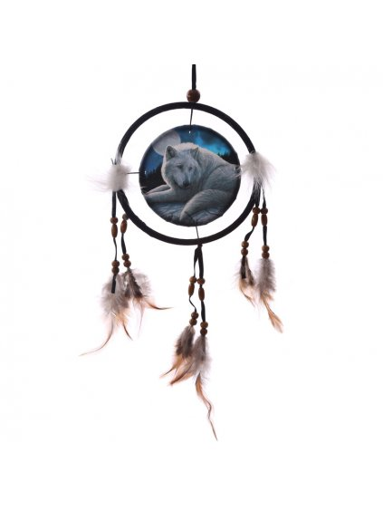 dreamcatcher guardian of the north 16cm