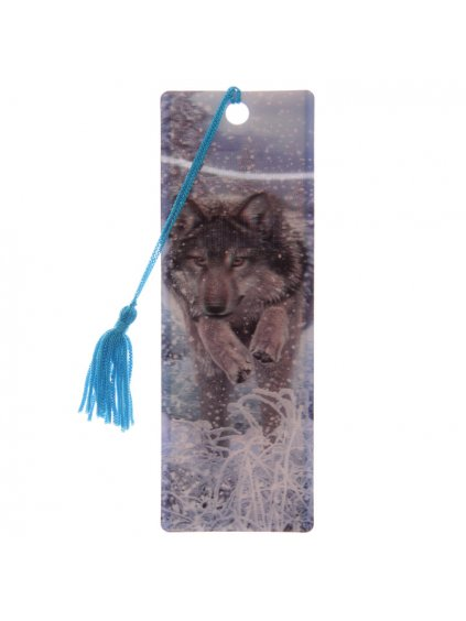 Wolves 3D Bookmarks Lisa Parker & Licensed Designs Included2