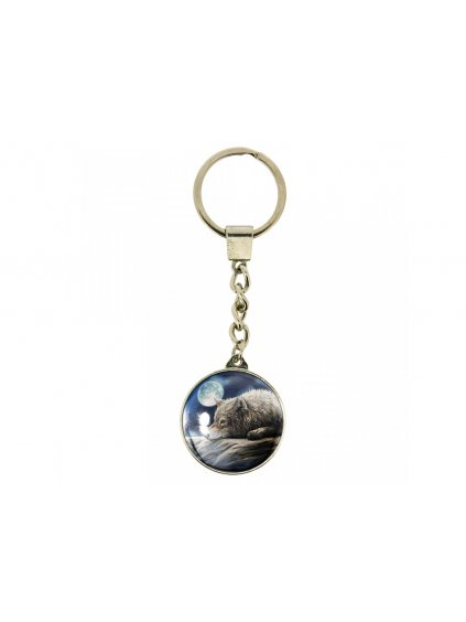 keyrings quiet reflection 10cm