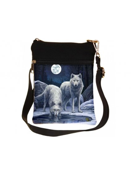 warriors of winter shoulder bag 23cm