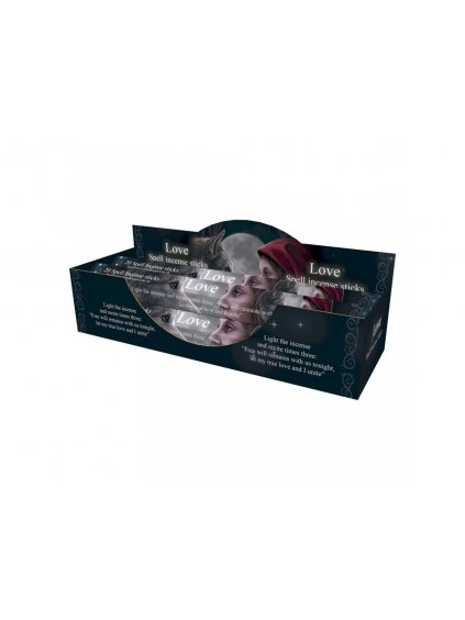 love spell rose incense sticks 24cm