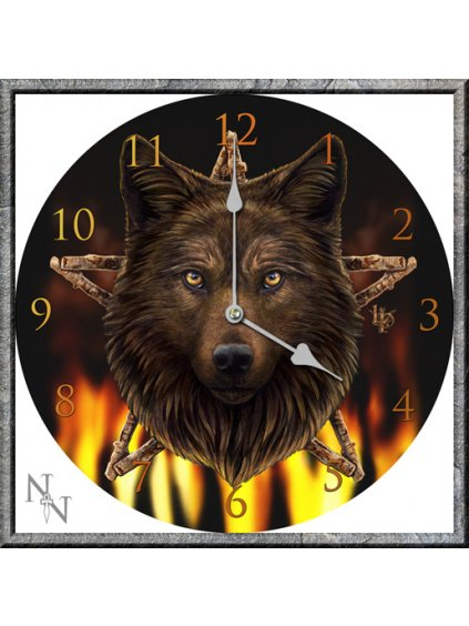 Wild Fire Clock LP 34cm (P6)