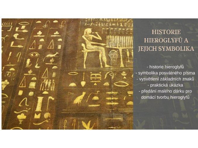 Historie hieroglyfů a jejich symbolika