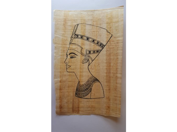 Shams tištěný papyrus - omalovánky motiv 1 A4