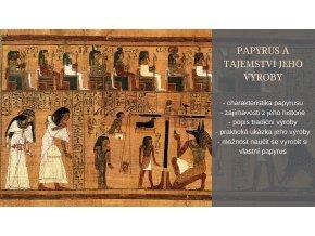 Papyrus a tajemství jeho výroby