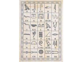 Shams tištěný papyrus - omalovánky motiv 4 A4