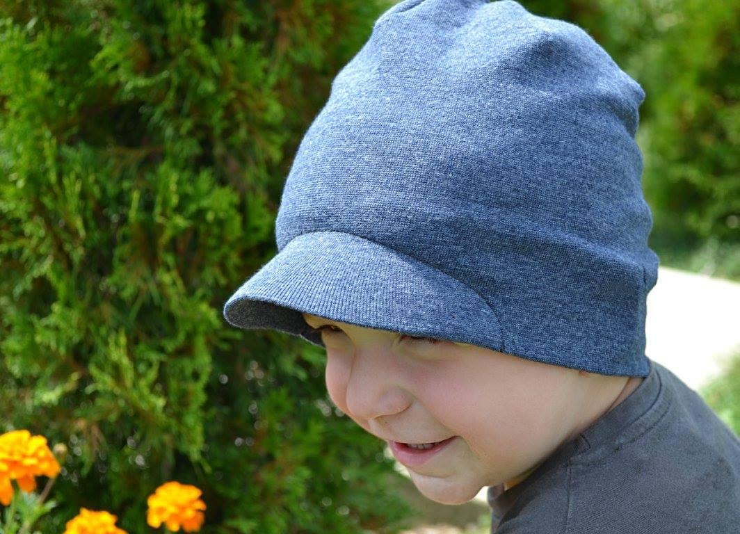 Jak na stylovou čepici s pevným kšiltem (střih zdarma)