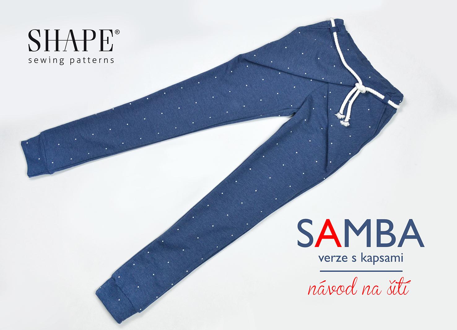 Návod na šití SAMBA s kapsami