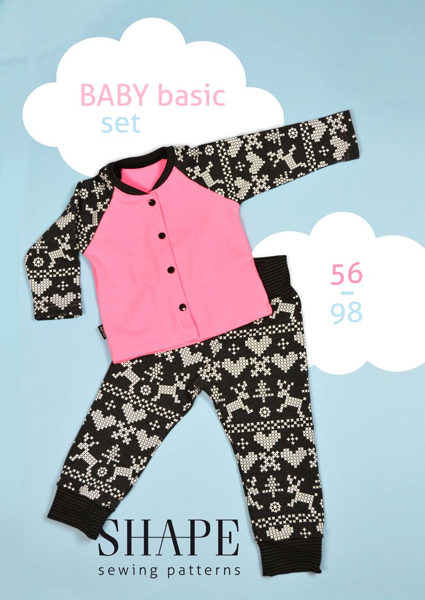 Návod na šití BABY BASIC SET