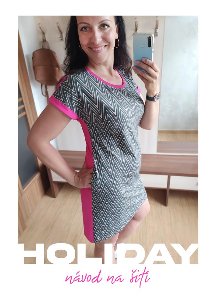 Návod na šití šaty HOLIDAY