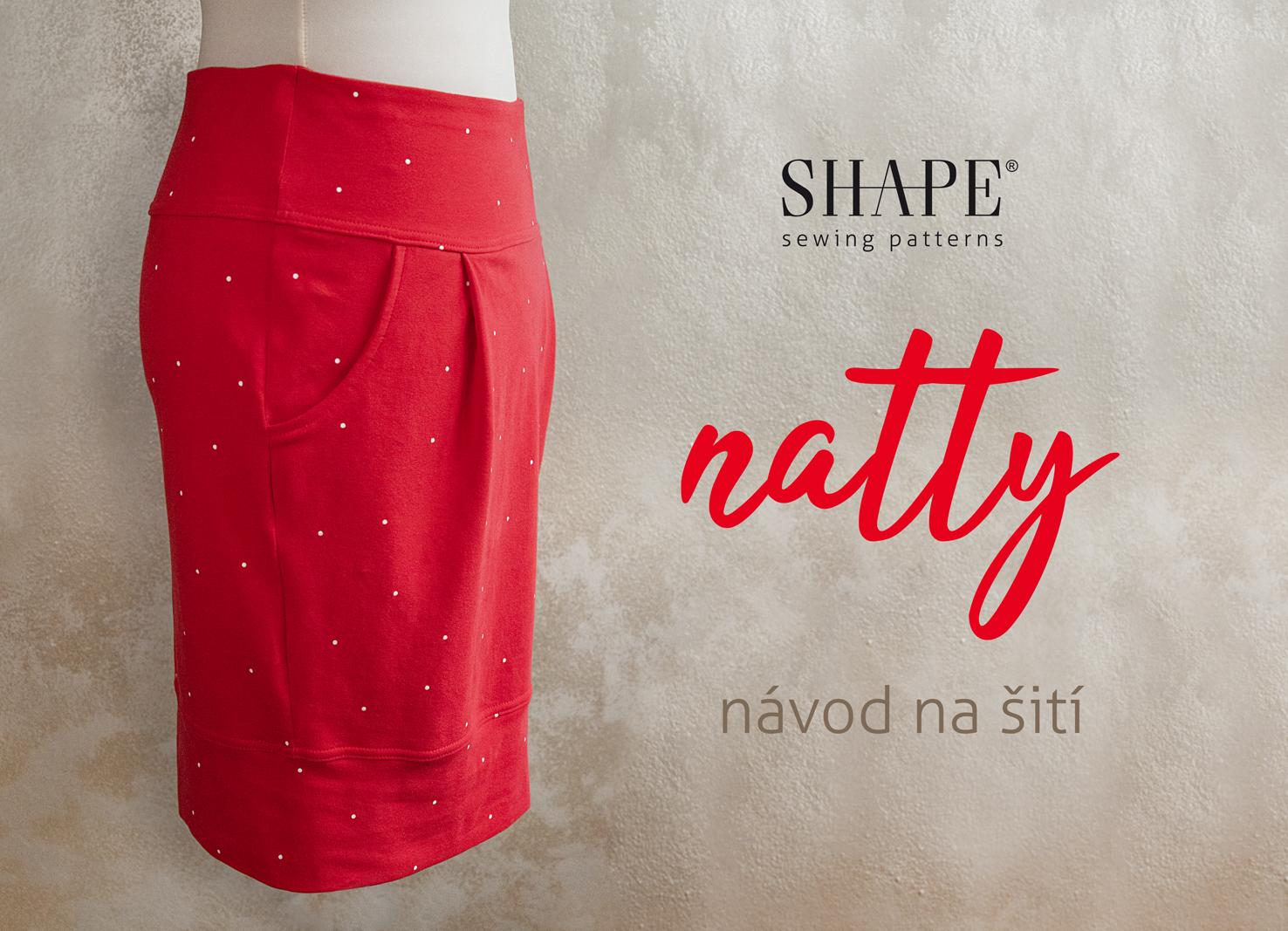 Návod na šití sukně NATTY