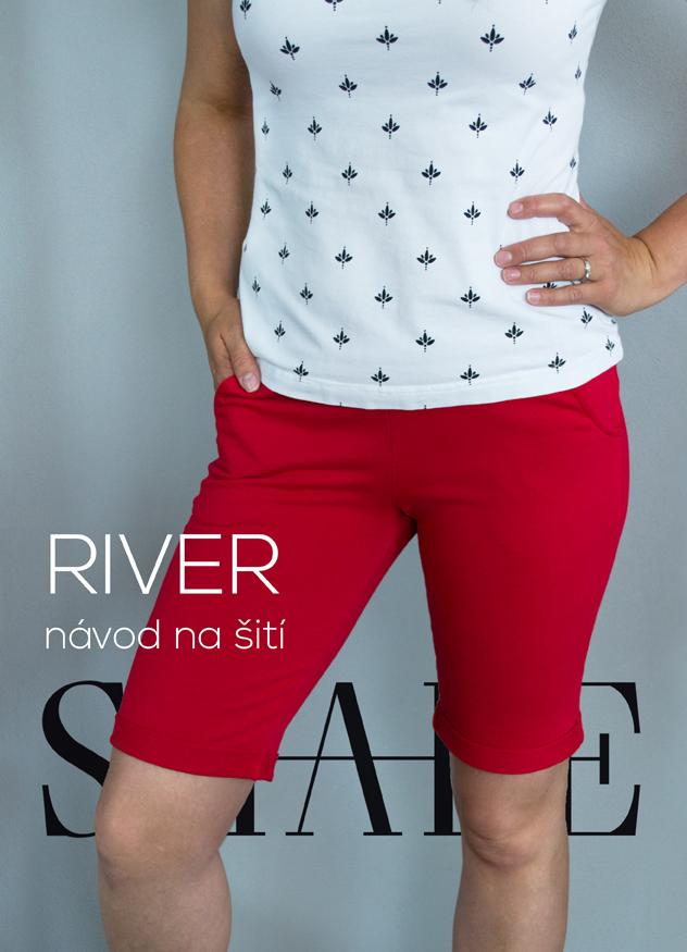 Návod na šití kraťasy RIVER
