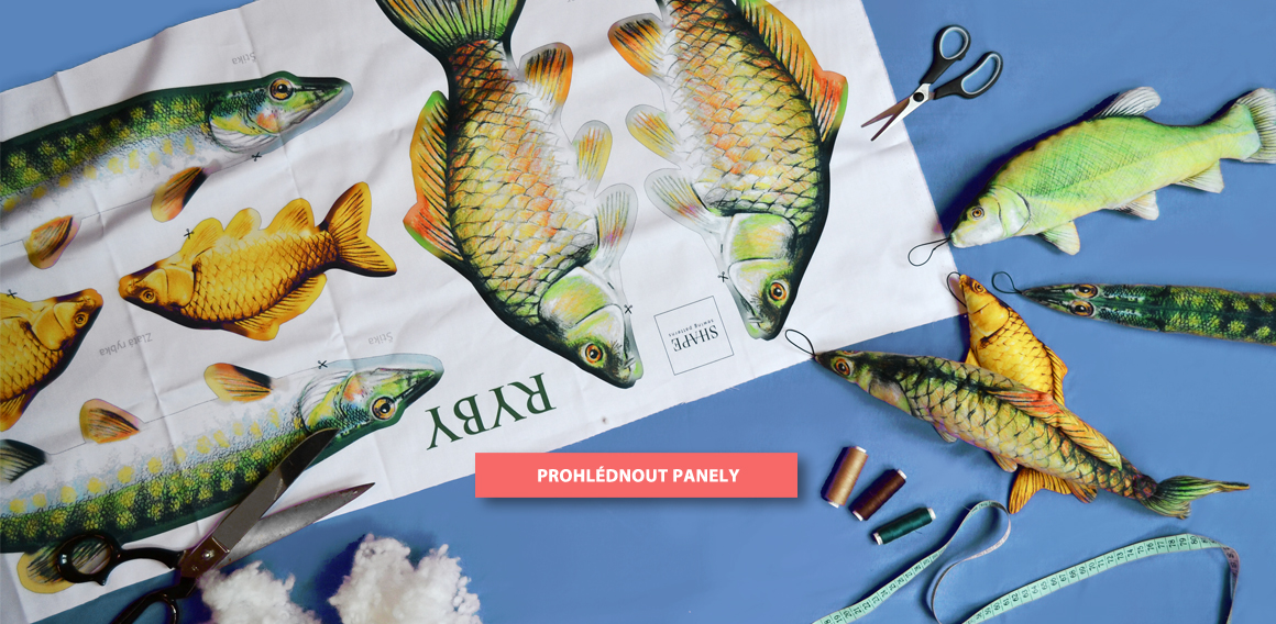 SHAPE-textilni-latkovy-panel-bavlneny-ryby-strih