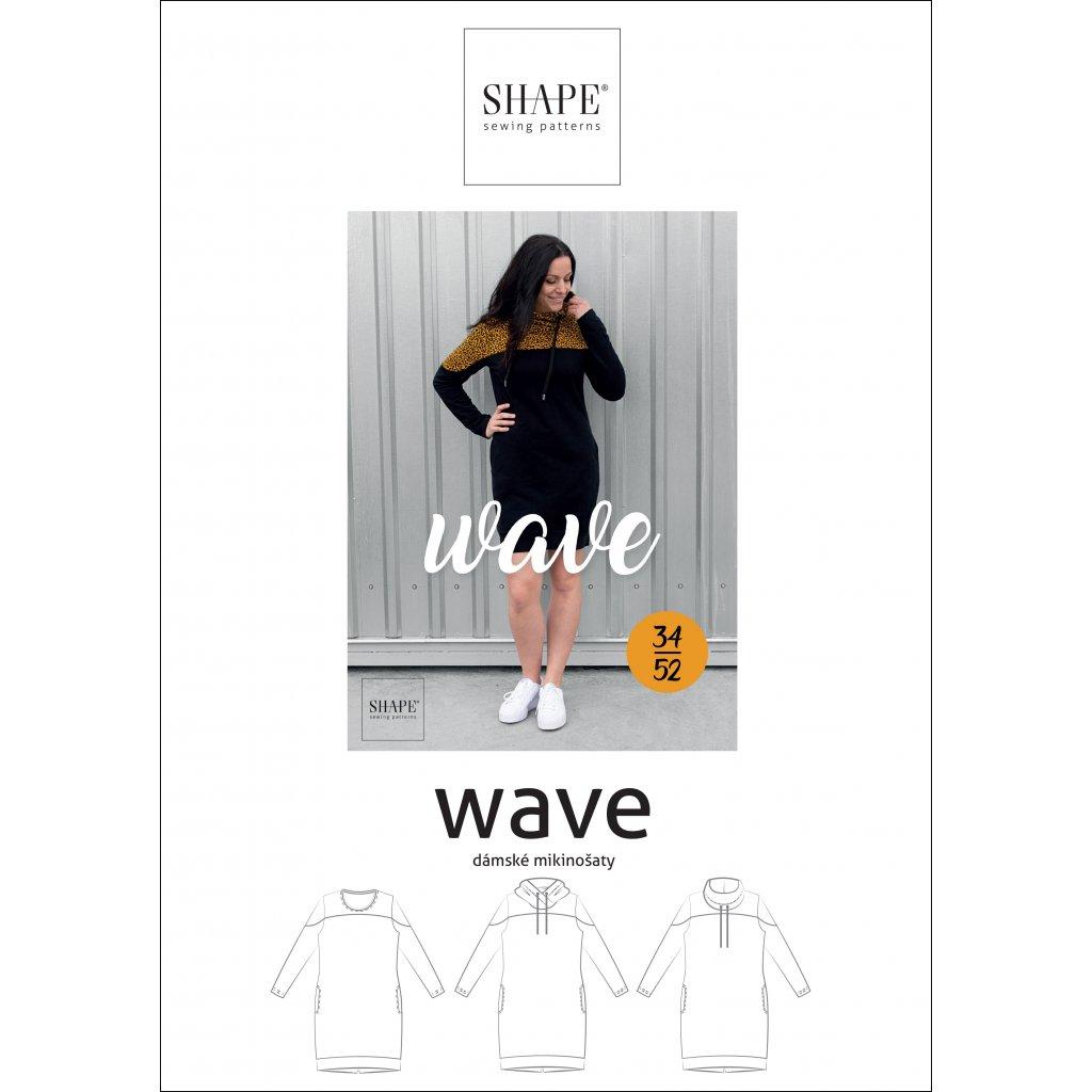 SHAPE wave papirovy strih