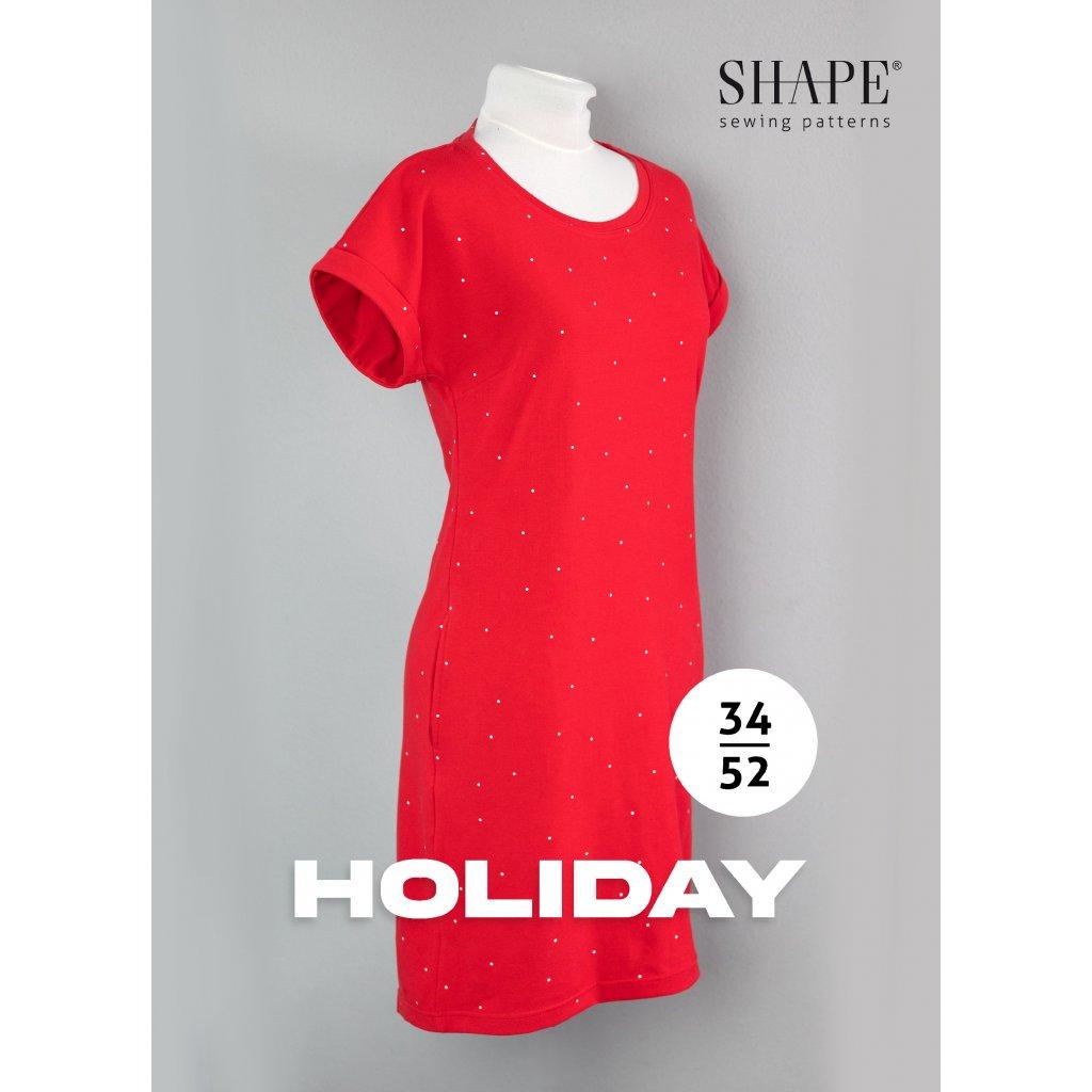 SHAPE holiday dámské šaty střih