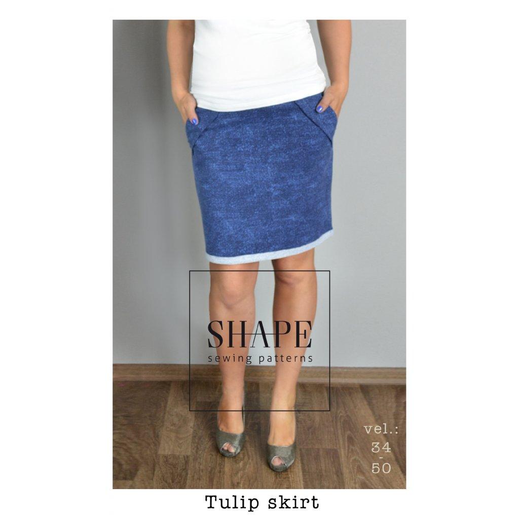 SHAPE_damska_sukne_tulipanova