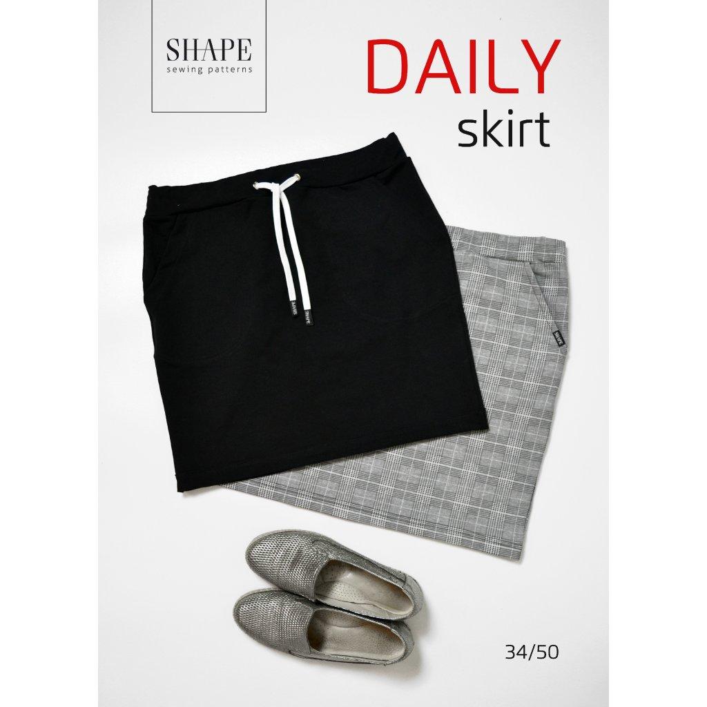 SHAPE-daily-skirt-strih-sukne