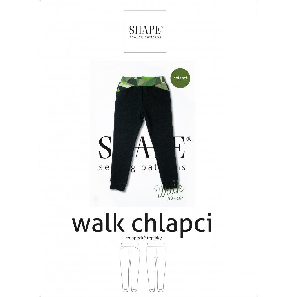 SAHPE walk papir chlapci 98 164
