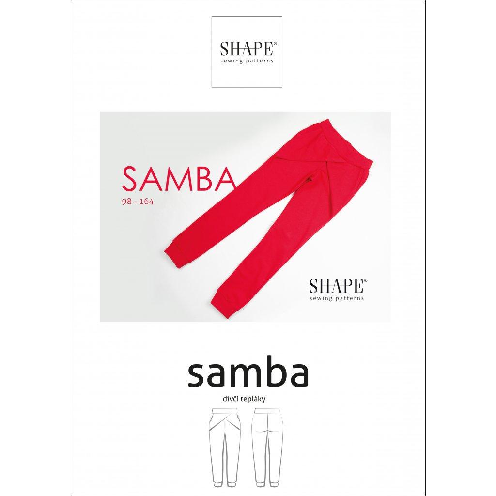 SHAPE samba 98 164 papir