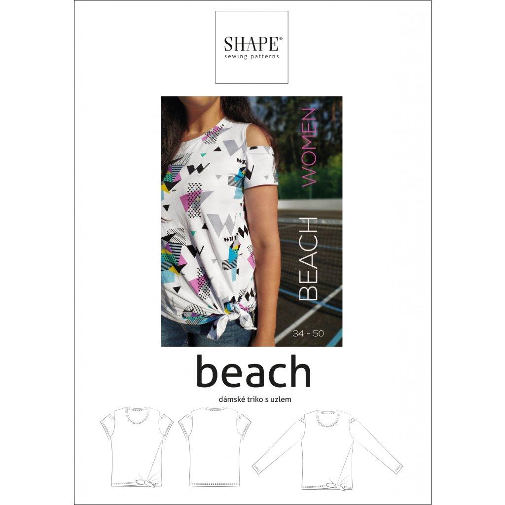 SHAPE_beach_woman_triko_strih_papir