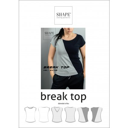 SHAPE break top papirovy strih