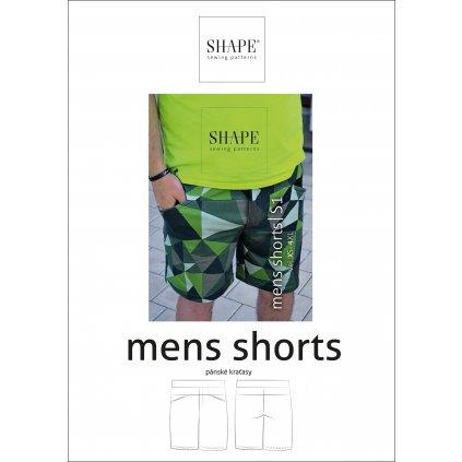 SHAPE men short papir