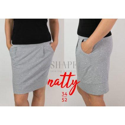 SHAPE natty střih sukně