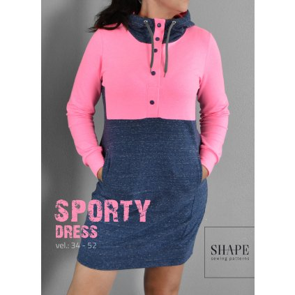 SHAPE_sporty_dress_strih_navod