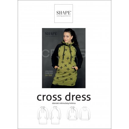 SHAPE cross dress papir