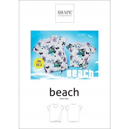 SHAPE beach 98 164 papir