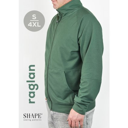SHAPE raglan men strih