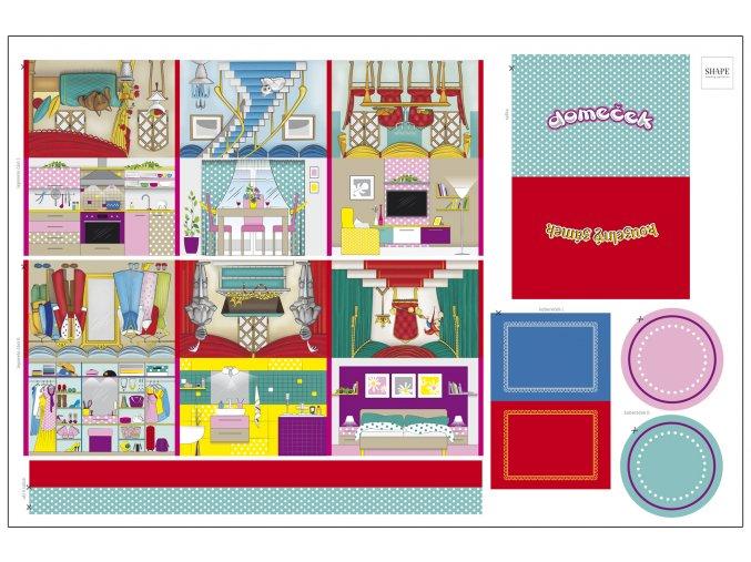 SHAPE-textilní-latkovy-panel-leporelo-domeček