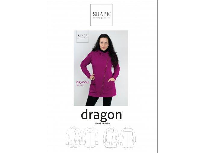 SHAPE dragon papir