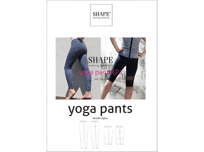 SHAPE yoga pants papir