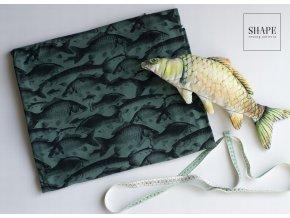 elastický úplet - velké ryby