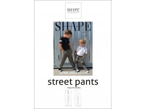SHAPE street pants papir 80 170