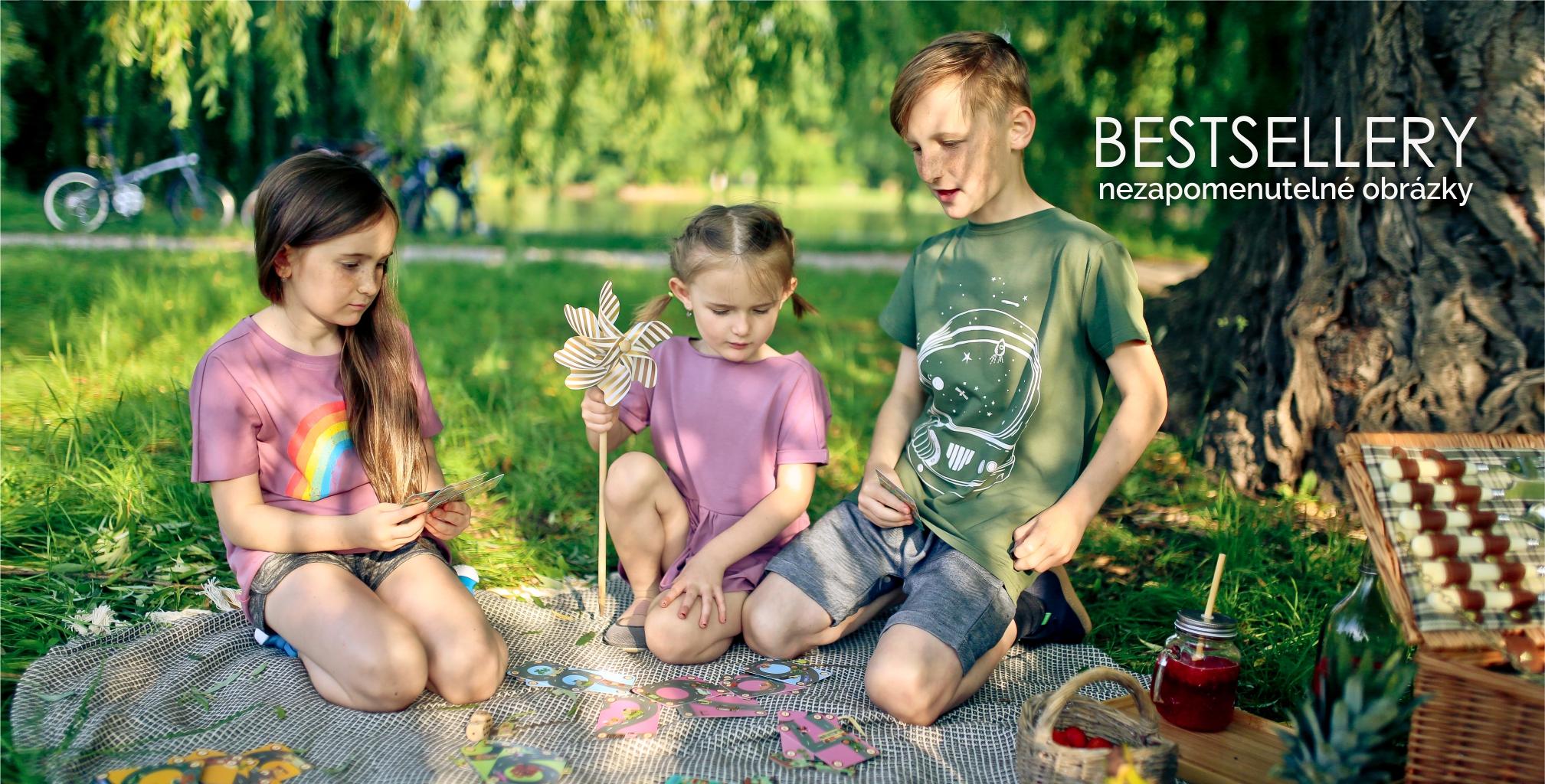 Dětské oblečení SHARK IN THE PARK