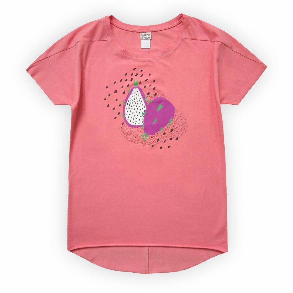 dámské triko růžová 1