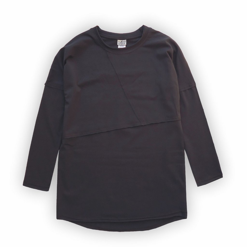 divci triko dlouhe cerna 1