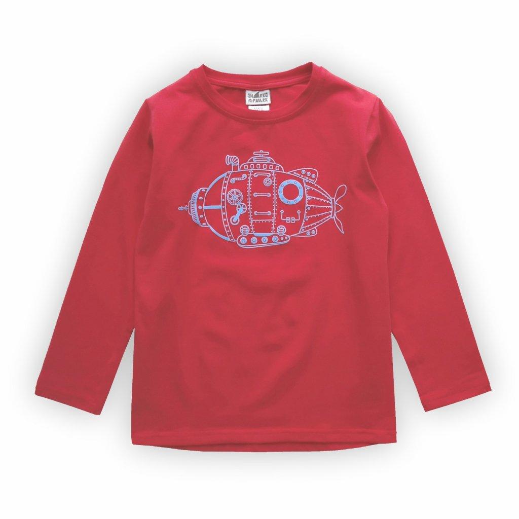 detske triko cervena 1