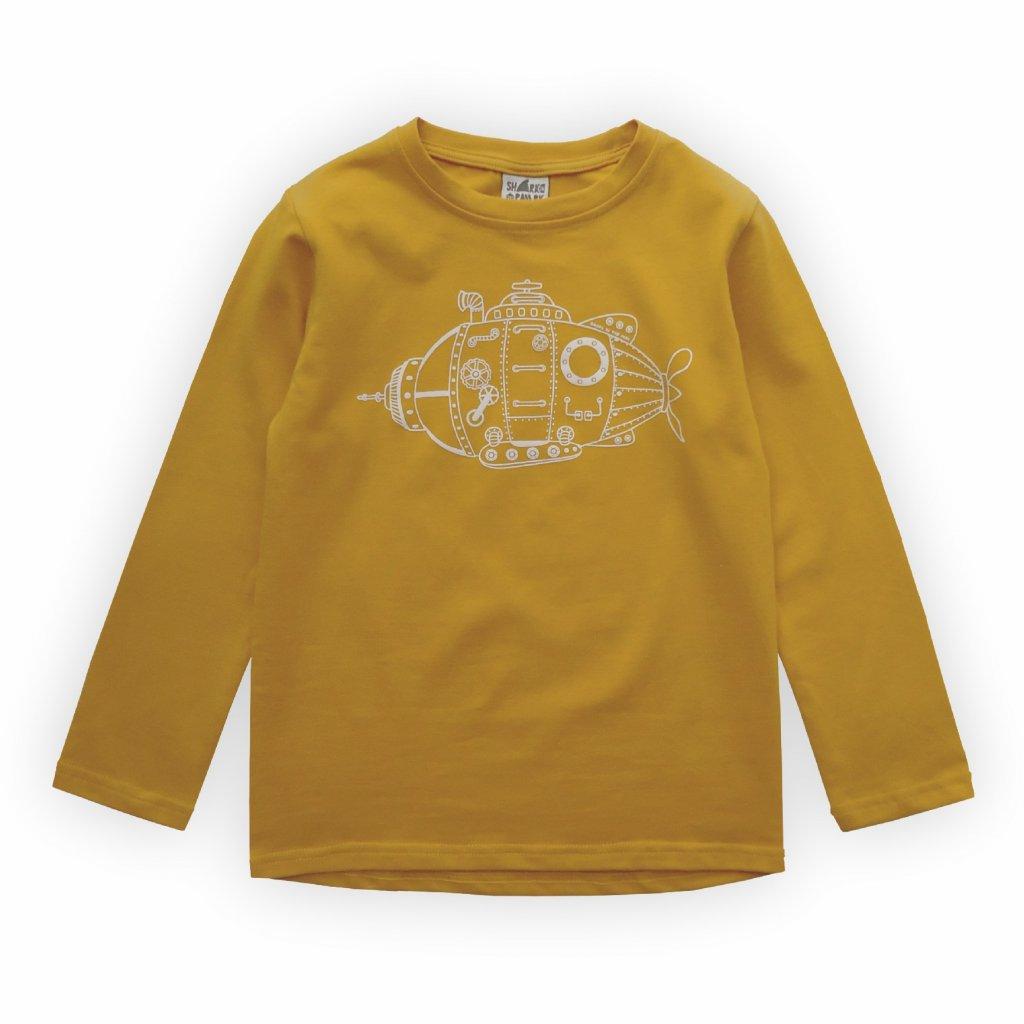 detske triko zluta 1