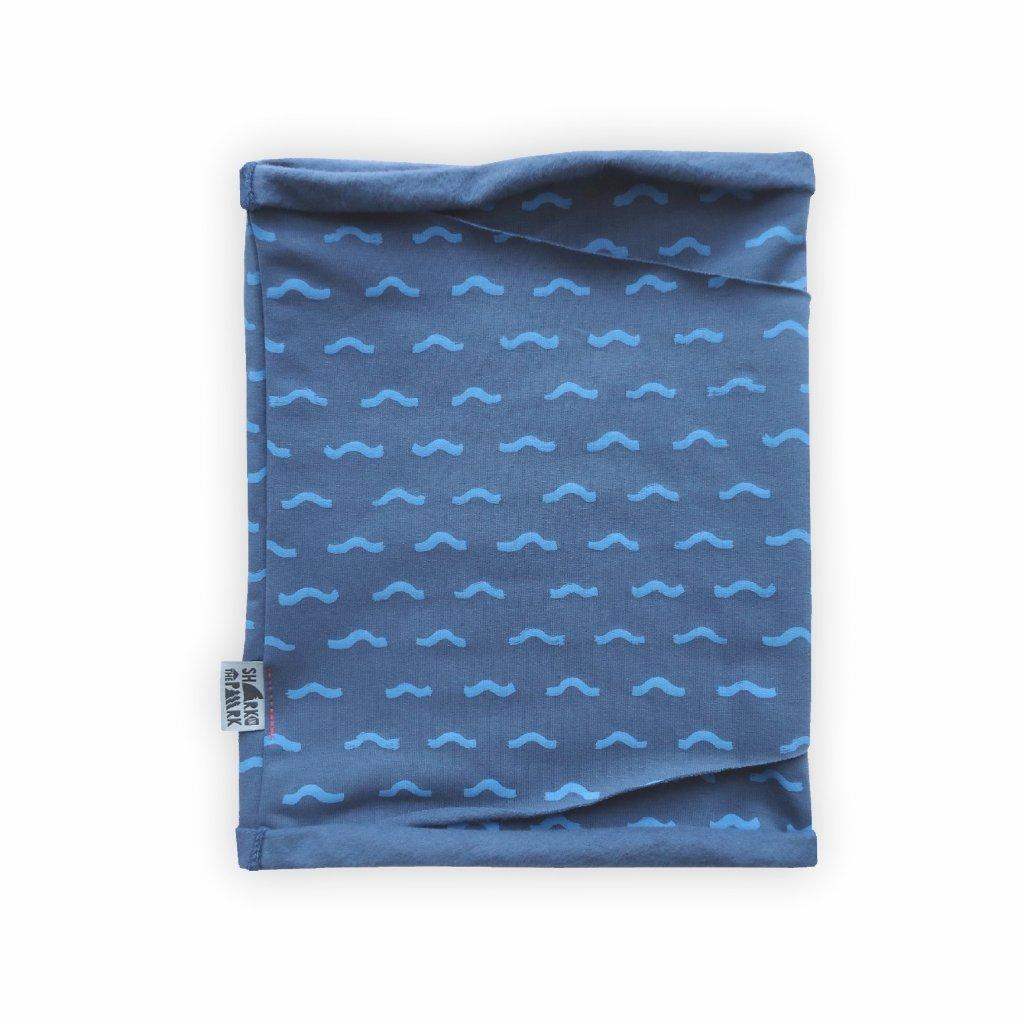 nakrcnik tunel modra vzor 1