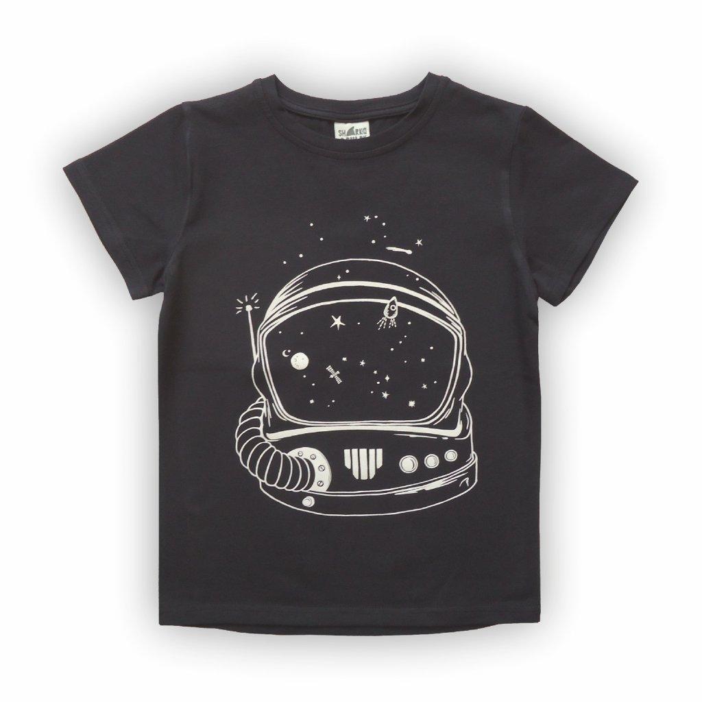 dětské triko černá 1