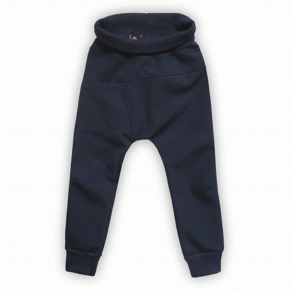 kalhoty softshell modra 1