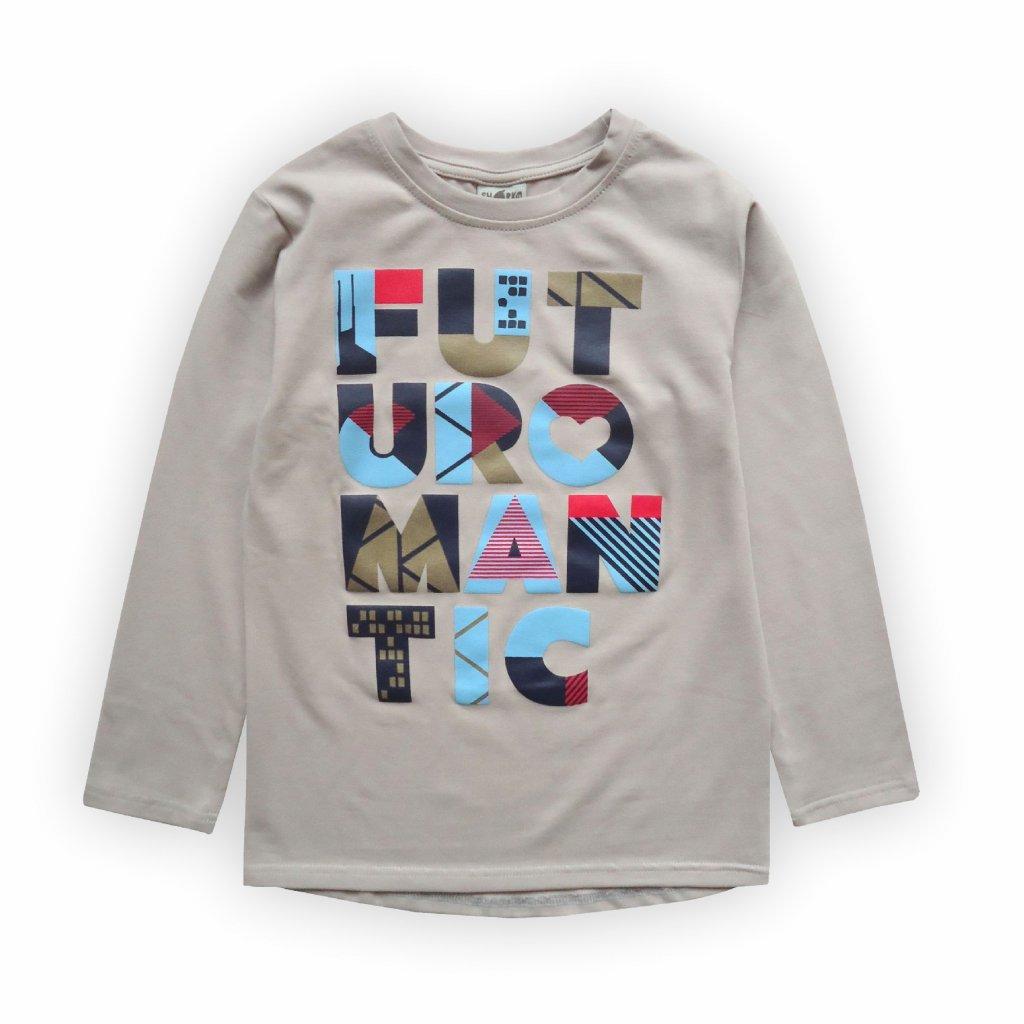 Dětské triko smetanově bílá 1