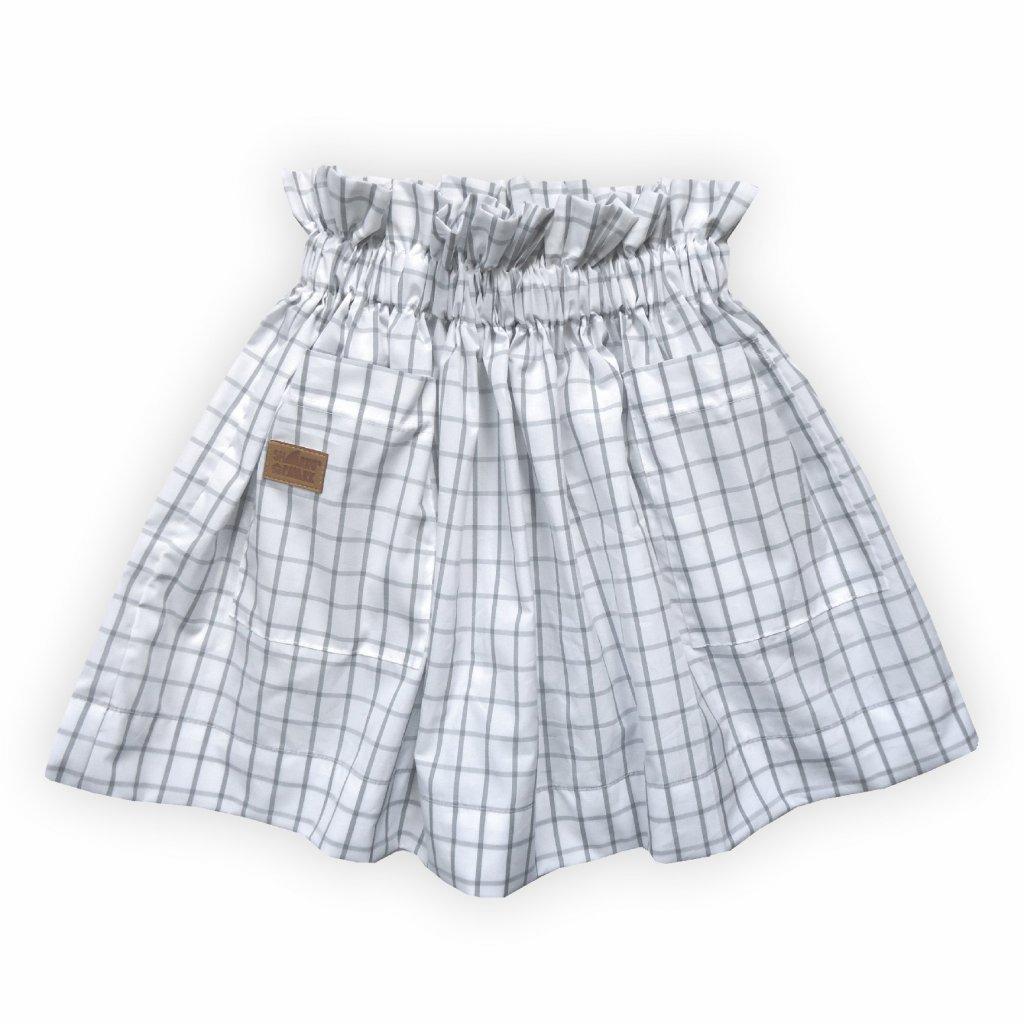 Dívčí sukně kostkovaná 1