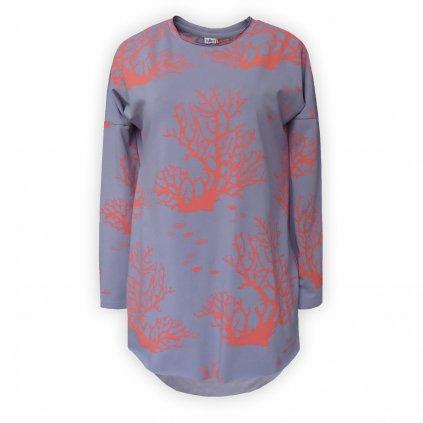 damske triko fialova 1