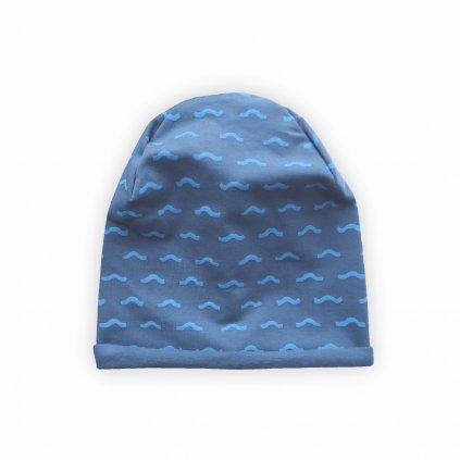 cepice beanie modra 1